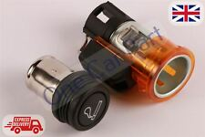 New 12V Orange Cigarette Lighter for FIAT Bravo Brava Grande Punto Doblo Stilo