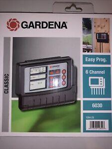 Programmateur D'arrosage GARDENA 6030 Classique 1284-20 Neuf Dans L'emballage