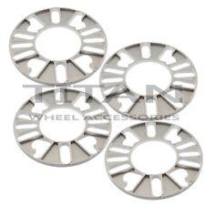 (4) 8mm 4 Lug wheel Spacers | Fits Honda Mazda Acura Scion Suzuki | Flat Spacer