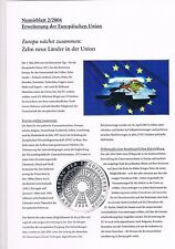 Numisblatt 2004 Beschreibung 2/2004 Erweiterung EU u. 3/2004 NP Wattenmeer