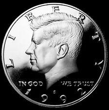 1992 S  Kennedy Mint Silver Proof Half Dollar from Original U.S. Mint Proof Set