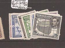 Somaliland KGVI SG 93-104 MOG (5awr)