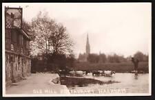 Harnham near Salisbury. Old Mill Restaurant.