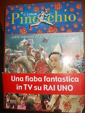 PINOCCHIO COLLODI GIUNTI IMMAGINI FILM BENIGNI COPERTINA RIGIDA  sc36