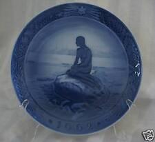 Royal Copenhagen 1962 Christmas Plate, Little Mermaid