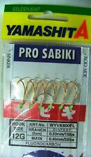 Giapponese Yamashita Pro Sabiki Filosa Wyvk600fl #10 G Fluorocarbon