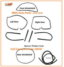 NEW BMW E10 1600 1602 2002 2002tii 9 PIECE BODY SEAL KIT 1967-1976