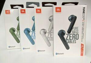 NEW JBL Tune T220TWS True Wireless Earbud Bluetooth Headphones - Choose color