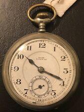 Poket Watch Chronograph Paul Garnier Horologer De La Marine