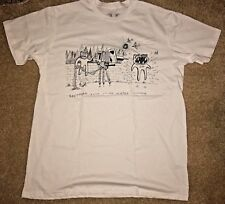 2018 RADIOHEAD TOUR T-SHIRT CHICAGO NORTH AMERICA LARGE L UNITED CENTER JULY 7