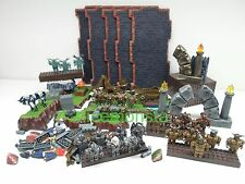 Mega Bloks Lot of Dragons Krystal Wars Warriors Weapons Base Blocks 30 Figures
