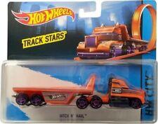 New Hot Wheels Track Stars Hitch & Haul Vehicle Hot Wheels Track Hauler 1:64