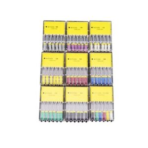 6pcs/kit Dental Endo Hand Use K-Files 25/21mm Stainless Steel Root Canal REAMERS
