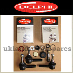 LAND ROVER DEFENDER TRACK ROD ENDS - OEM DELPHI BALL JOINTS - RTC5869 RTC5870