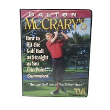 Vhs Set Dalton McCrary's How To Hit The Golf Ball As Straight As You Can Point