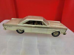 Vintage 1965 Ford Promo Galaxie Plastic Car