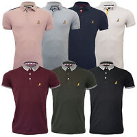 Mens Polo T Shirt Brave Soul Glover Short Sleeved Cotton Collared Casual Summer