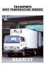 Brochure publicitaire Gamme frigorifique Renault