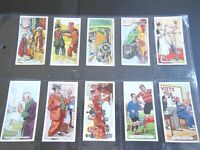 1936 Ardath  PROVERBS comic sayings set 25 Tobacco Cigarette cards lot Ex to MT