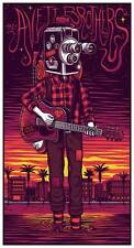 The Avett Brothers 8/11/2017 Poster Greek Theatre Signed & Numbered #/200