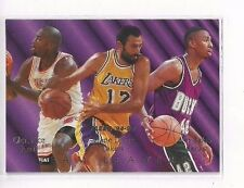 1994-95 FLEER TEAM LEADERS GLEN RICE VLADE DIVAC VIN BAKER #5 OF 9