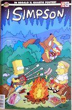 FUMETTO I SIMPSON N.20 1999 MACCHIA NERA CON POSTER