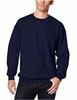 Hanes Men's Ultimate Heavyweight Fleece Sweatshirt, Navy,, Navy, Size X-Large uZ
