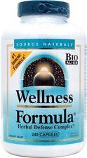 Source Naturals Wellness Formula, 240 Capsules