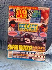 NOS MARCH, 1995 STOCK CAR SPECTACULAR DIE CAST PRICE GUIDE MAGAZINE