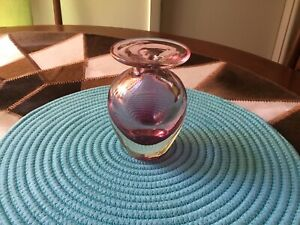 Murano Vintage Art Glass Vase