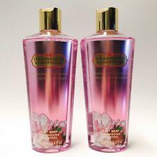 2 Victoria's Secret VS Fantasies Strawberries & Champagne Body Wash 8.4 fl.oz