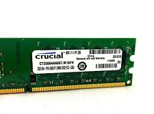 Crucial 4GB (2x2GB) PC2-5300 DDR2 667 240-Pin DIMM Desktop RAM (CT25664AA667)