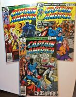 Captain America Comic Book lot Issues #231 232 233 Marvel