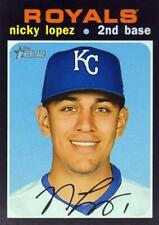 2020 Topps Heritage #305 Nicky Lopez - Kansas City Royals
