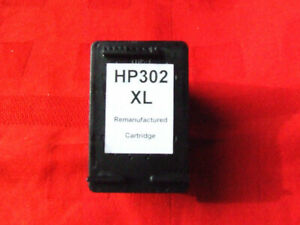 CARTOUCHE JET D'ENCRE COMPATIBLE IDEM HP NOIR BLACK 302XL 302 XL LONGUE DUREE