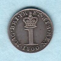 Great Britain.  1800 George 111 - Silver Penny.. gEF/EF - Much Lustre