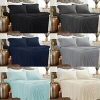 Bed Sheet Set 1800 count Ultimate Soft 4 Piece Set bedding  Deep Pocket