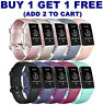 For Fitbit Charge 3 Watch Band Replacement Silicone Bracelet Wrist Strap Straps