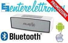 CASSA PORTATILE CON FM SD USB BLUETOOTH SMARTPHONE SPEAKER WS-636 ANDROID/IPHONE