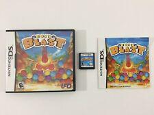 Rock Blast Nintendo DS CIB Complete Auth Tested