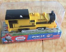 NEW IN BOXED Thomas & friend train trackmaster Battery train DUNCAN
