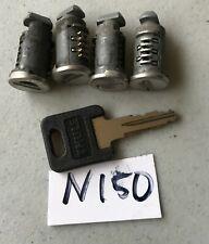 4 Thule lock N150 Cylinders - 1 key