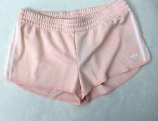Adidas Women's Ice Pink Textured Running Active Shorts Size XL