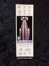October 20, 1994 New York Rangers vs Los Angeles Kings Unused Ticket T613