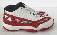 Nike Air Jordan 11 Retro Low IE White/Gym Red Men's 919712-101 Size 10
