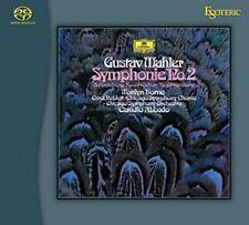 Claudio Abbado Mahler Symphony No.2 & 4 Esoteric ESSG-90141/42 SACD DG NEW Japan