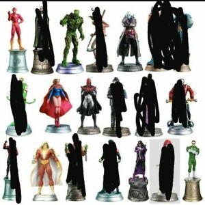Lot Of 8 DC COMICS Eaglemoss Collector's Set Figurines. Batman Superman Rare