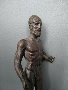 Antica scultura in bronzo (stile antico) old style italian bronze figure