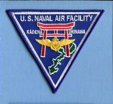 NAF NAVAL AIR FACILITY KADENA OKINAWA JAPAN US Navy Base Squadron Jacket Patch
