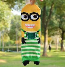 HOT green Cute  Despicable me 2 minions》Creativei Cartoon Cotton Socks 1 pair